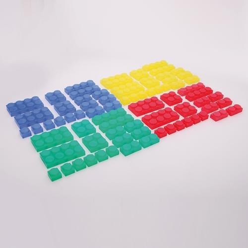 TickiT SiliShapes Soft Bricks