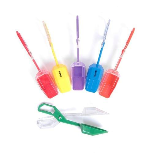 TickiT Rainbow Tongs Assorted Set of 6