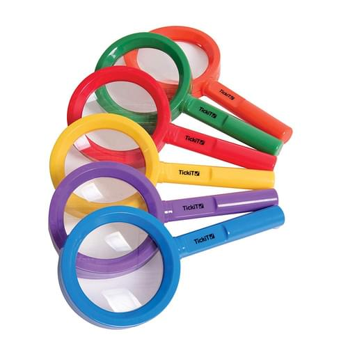 TickiT Rainbow Magnifiers Assorted Set of 6