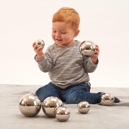 TickiT Sensory Reflective Sound Balls