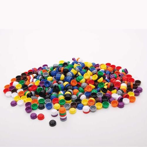 20mm Stacking Counters Pk500 Assorted Solid Colours