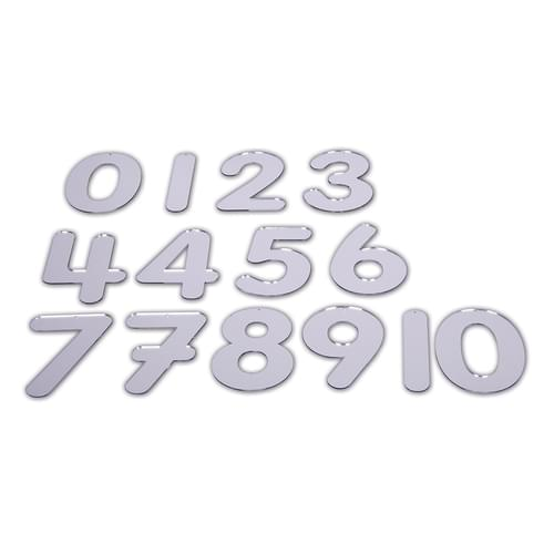 TickiT 70mm Mirror Numbers