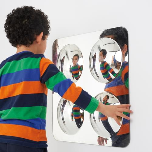 TickiT Large 4 Dome Mirror Panel