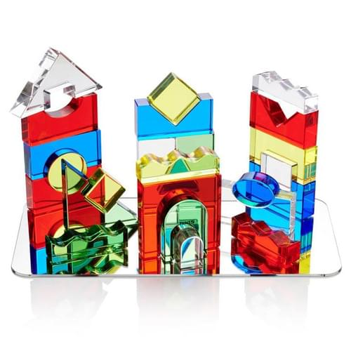TickiT Colour Crystal Blocks Set
