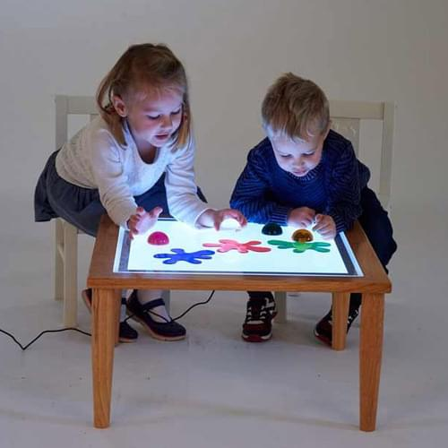 TickiT Wooden Light Table