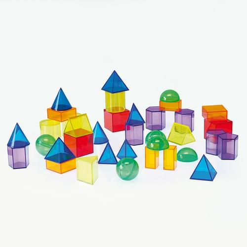 TickiT Translucent Geometric Shapes