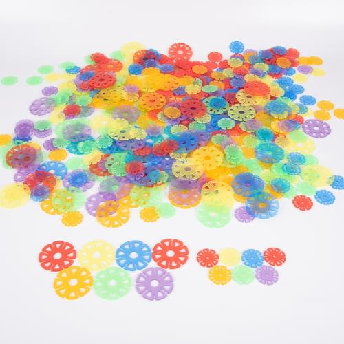 TickiT Translucent Linking Discs