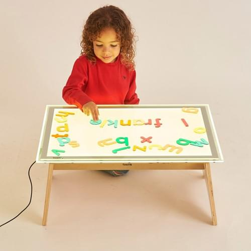 TickiT A2 Colour Changing Light Panel & Table Set