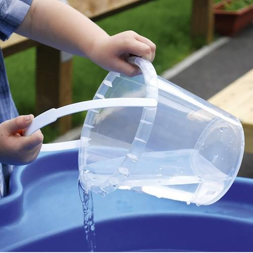 TickiT Economy Clear Buckets