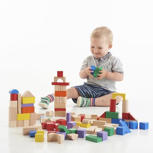Mixed Wooden Blocks Set