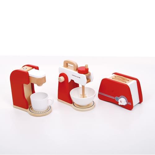 Wooden Kitchen Appliance Set