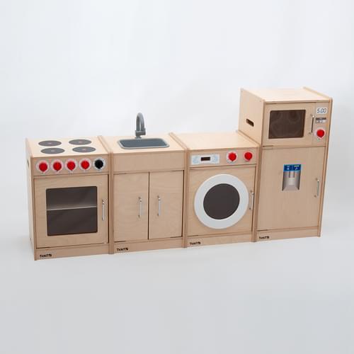 TickiT Wooden 5 Feature Kitchen