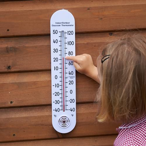 TickiT Indoor/Outdoor Oversized Thermometer