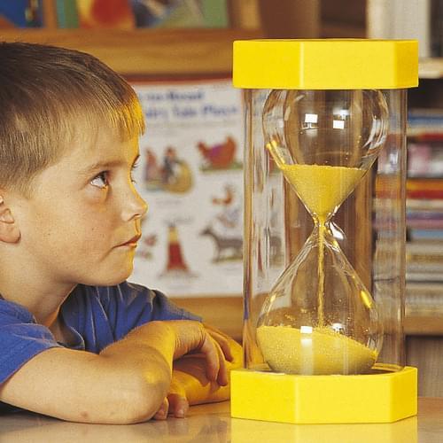 TickiT 3 Minute Mega Sand Timer (Yellow)
