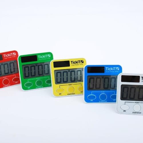 TickiT Dual Power Timers
