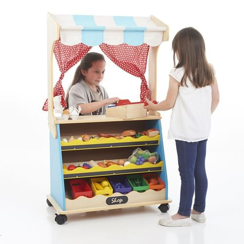 Santoys 2-in-1 play Shop & Theatre