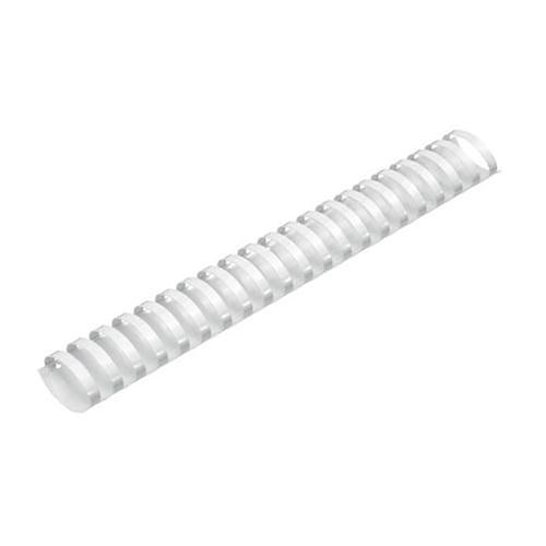 38mm Plastic Binding Combs White Pk50