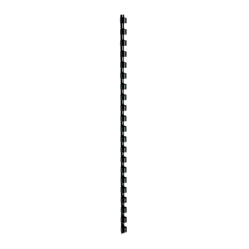 6mm Plastic Binding Combs Black