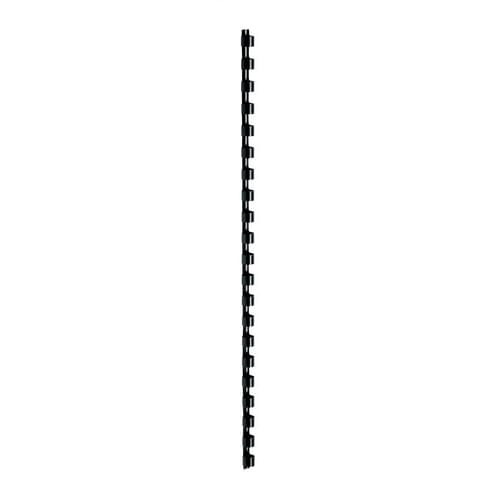 8mm Plastic Binding Combs Black