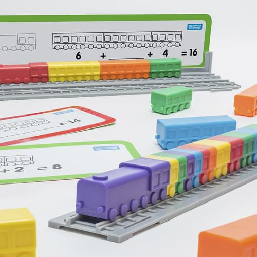 Linking Locomotives Counting Carriages Maths Activity Set