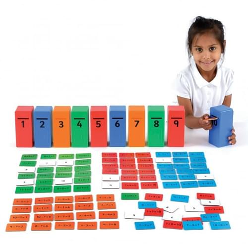 Addition & Subtraction Posting Game