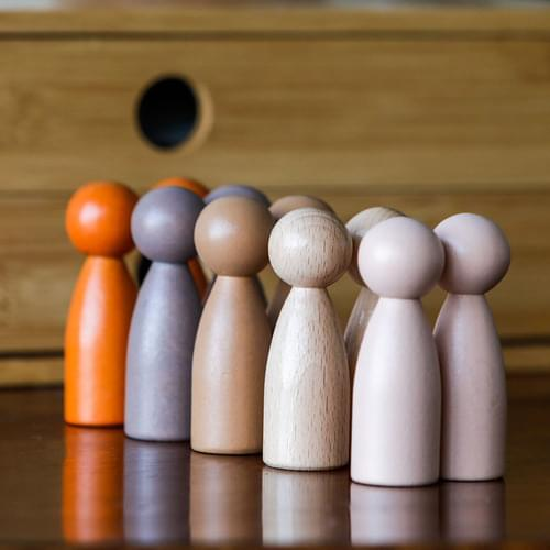 Peg People of the World