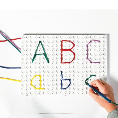 Nexus White Rectangular Pattern Board Set