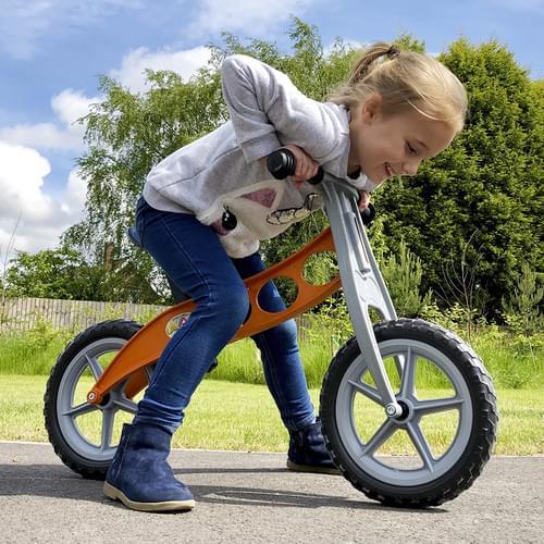 Cruiser Lightweight Balance Bike Orange