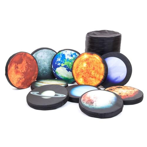 Set of 10 Planet Carry Cushions