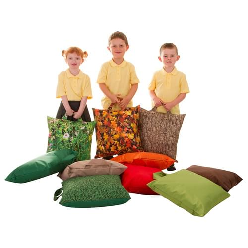 Learn About Nature Seasons Grab-and-Go Cushions