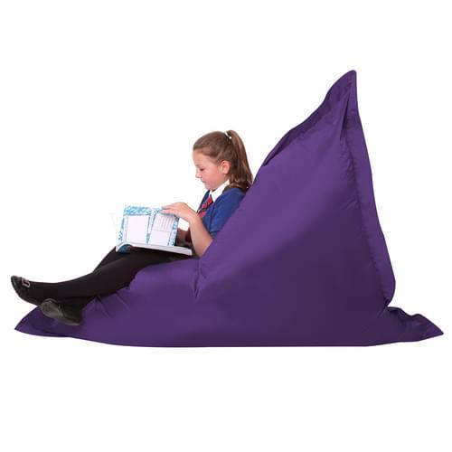 Giant Bean Bag Floor Cushion Purple
