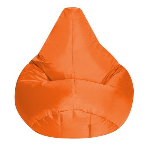 Large Reading Bean Chair Orange