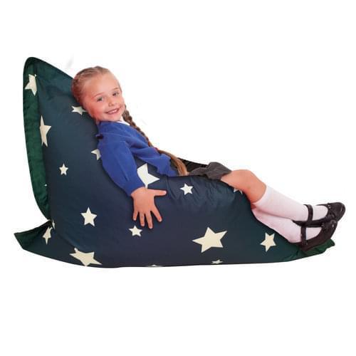 Star Print Floor Cushion