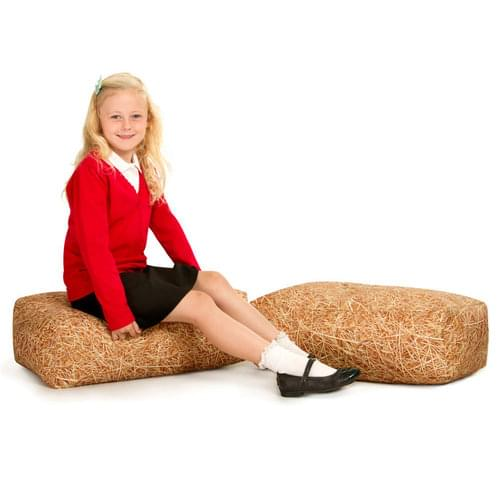 Learn About Nature Hay Bale Bean Bags