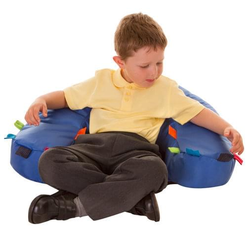Set of 2 Sensory Touch Tags Support Seats
