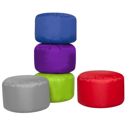 Set of 5 Brights Bean Seat Pods
