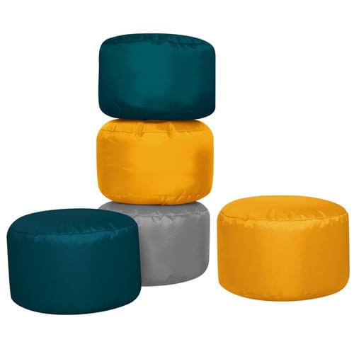 Set of 5 Naturals Bean Seat Pods