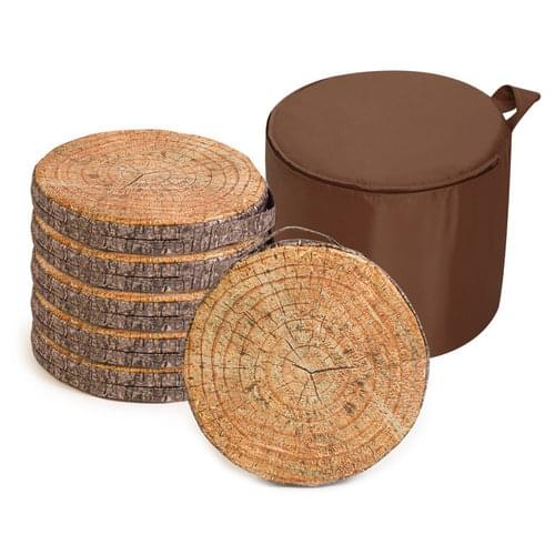 Learn About Nature Log Carry Cushions