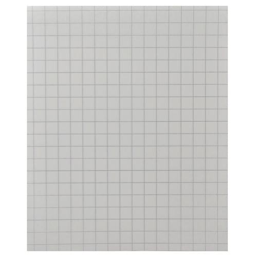 8x6.5in Unpunched Exercise Paper 10mm Squares 1 Ream