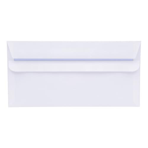 Super Saver 90gsm DL Plain White Envelopes