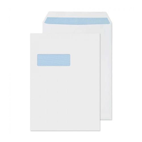 Super Saver 90gsm C4 Window White Envelopes