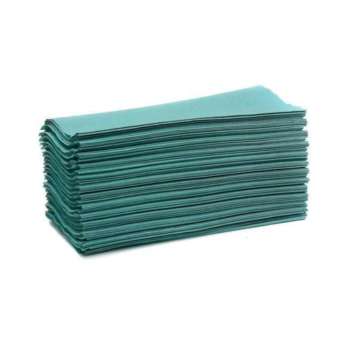 Super Saver C-fold Hand Towels Green