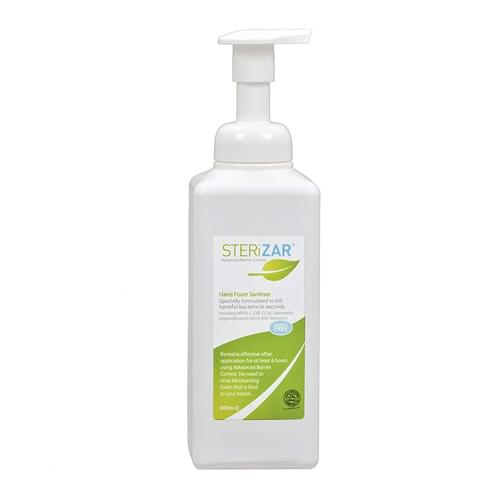 Sterizar Foam Hand Sanitiser 600ml