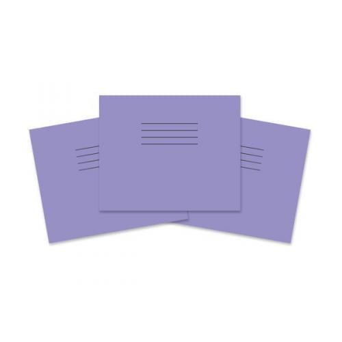 Rhino 5.25x6.5in 133x165mm Infant Books Plain Unruled Purple 24 Pages
