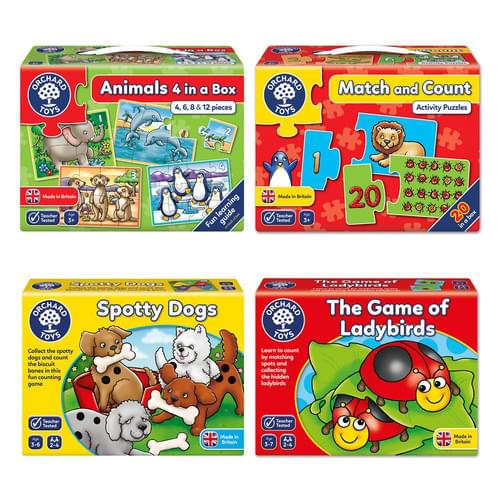 Orchard Toys Early Number Games Pack