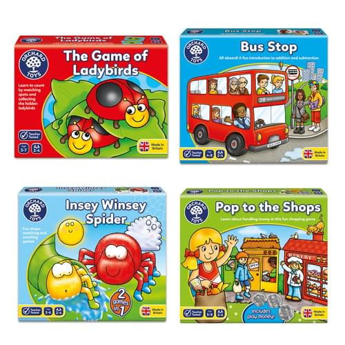 Orchard Toys Number Games Pack