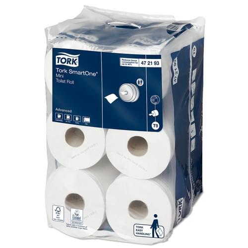 Tork SmartOne Mini Toilet Roll Pk12