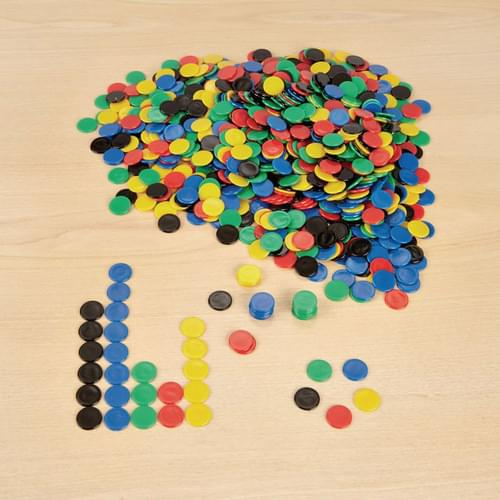 22mm Plastic Counters