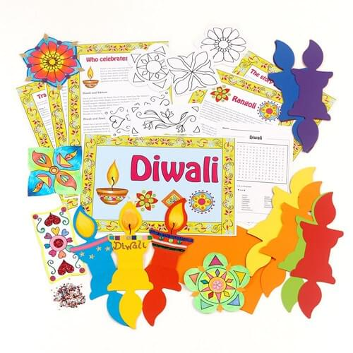 Diwali Resource & Display Pack