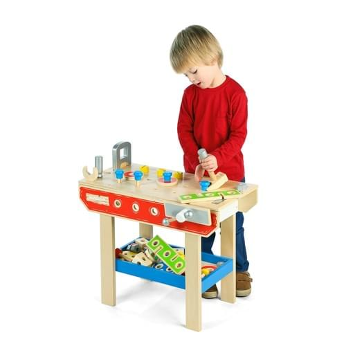 Wooden Play Workbench